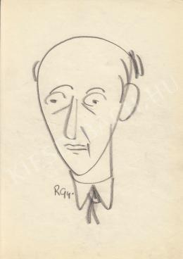 Rózsahegyi, György - Portrait of Béla Biszku Politician