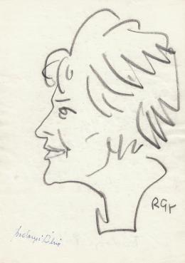 Rózsahegyi György - Bodonyi Pálné politikus portréja