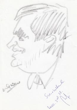 Rózsahegyi, György - Portrait of Imre Boros Politician