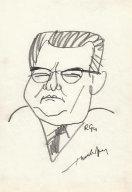 Rózsahegyi György - Bondor József politikus portréja