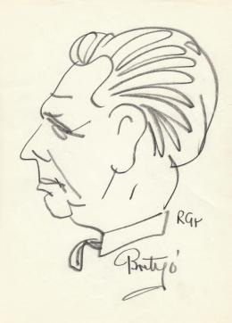 Rózsahegyi György - Brutyó János politikus portréja