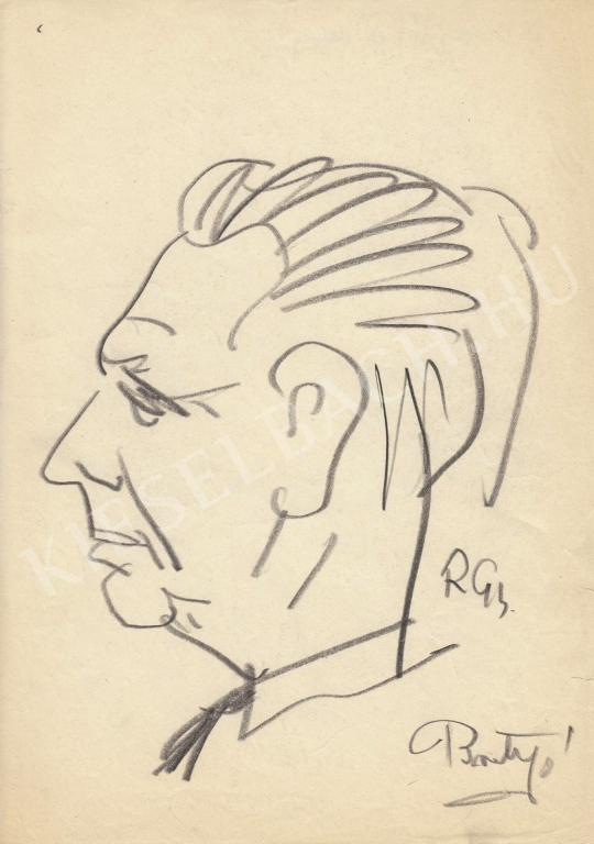 For sale  Rózsahegyi, György - Portrait of János Brutyó Politician 's painting