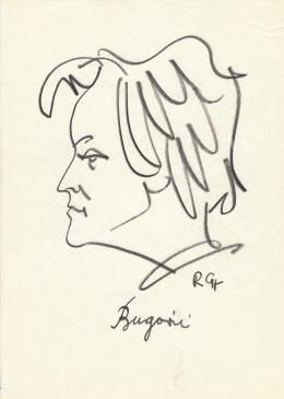 Rózsahegyi, György - Portrait of Jánosné Bugán Katalin Végh
