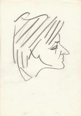 Rózsahegyi György - Bugán Jánosné Végh Katalin politikus portréja (1960-as évek)