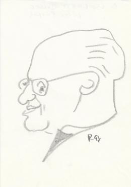 Rózsahegyi György - dr.Cserháti József püspök portréja