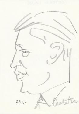 Rózsahegyi György - Cseterki Lajos politikus portréja