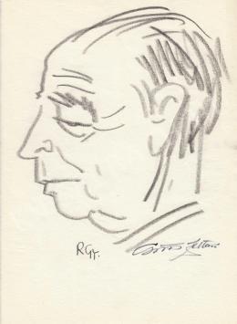Rózsahegyi, György - Portrait of Zoltán Csűrös Chemical Engineer