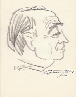 Rózsahegyi György - Csűrös Zoltán vegyészmérnök portréja (1960-as évek)