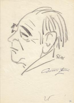 Rózsahegyi György - Csűrös Zoltán vegyészmérnök portréja