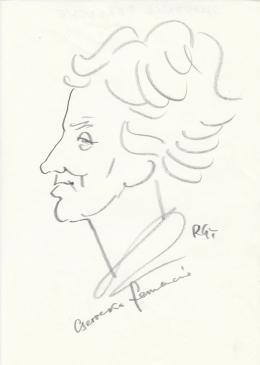Rózsahegyi György - Cservenka Ferencné politikus portréja