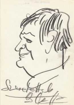 Rózsahegyi, György - Portrait of János Czoffer