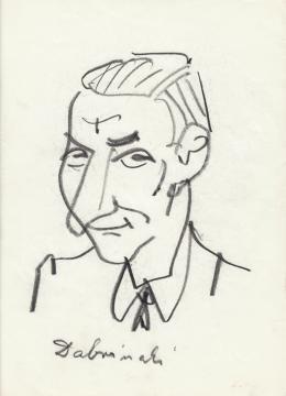 Rózsahegyi György - Dabronoki Gyula politikus portréja (1970-es évek)