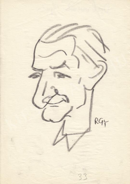 Eladó  Rózsahegyi György - Dabronoki Gyula politikus portréja festménye