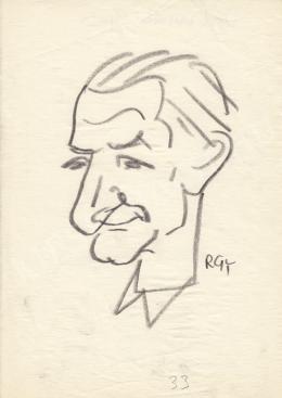Rózsahegyi, György - Portrait of Gyula Dabrónaki Politician