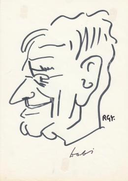 Rózsahegyi, György - Portrait of István Dobi Prime Minister
