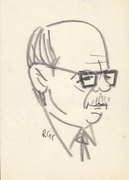 Rózsahegyi György - Dégen Imre mérnök portréja