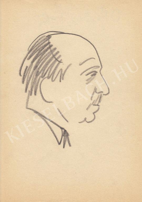 Eladó  Rózsahegyi György - Dégen Imre mérnök portréja festménye
