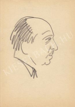 Rózsahegyi György - Dégen Imre mérnök portréja (1970-es évek)