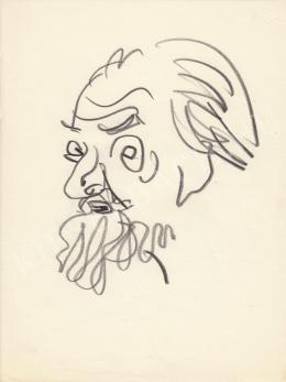 Rózsahegyi, György - Portrait of Ákos Dutka Poet, Journalist