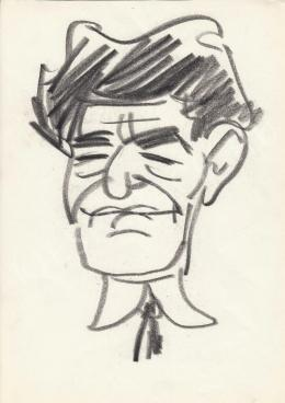 Rózsahegyi György - Erdei Ferenc szociológus portréja