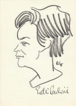 Rózsahegyi, György - Portrait of Lászlóné Erdei Politician