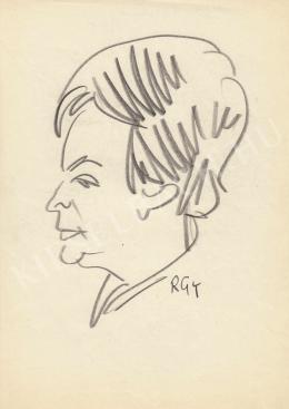 Rózsahegyi György - Erdei Lászlóné portréja (1970-es évek)