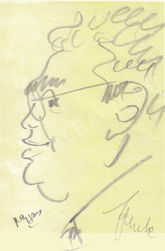 Eladó  Rózsahegyi György - Fekete János bankár portréja festménye