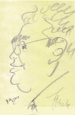 Rózsahegyi György - Fekete János bankár portréja