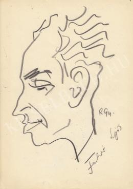 Rózsahegyi György - Fehér Lajos politikus, újságíró portréja