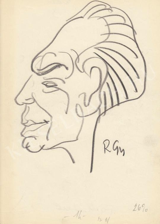 Eladó  Rózsahegyi György - Fock Jenő politikus portréja festménye
