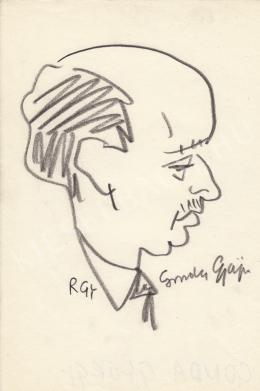Rózsahegyi György - Gonda György jogász portréja