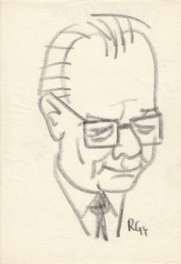 Rózsahegyi György - Gáspár Sándor politikus portréja
