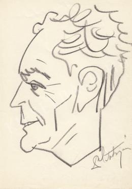 Rózsahegyi, György - Portrait of János Götz dr. Director of Public Prosecutions