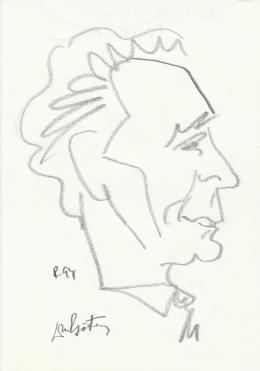 Rózsahegyi György - dr. Götz János főügyész portréja (1970-es évek)