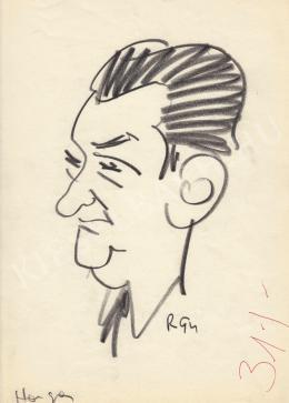 Rózsahegyi, György - Portrait of Béla Horgas Poet, Writer