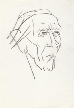 Rózsahegyi György - Áprily Lajos költő portréja