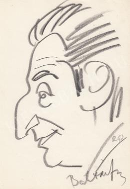 Rózsahegyi György - Baktay Ervin író, orientalista portréja