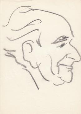 Rózsahegyi, György - Portrait of Imre Balassa Writer, Director, Critics