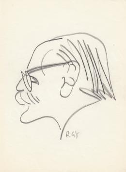 Rózsahegyi György - Benedek István író portréja