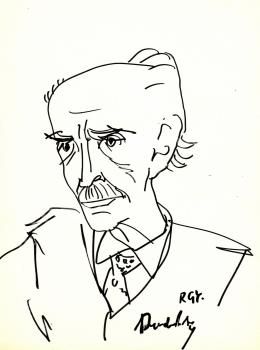 Rózsahegyi, György - Portrait of Marcell Benedek Writer (1980s)