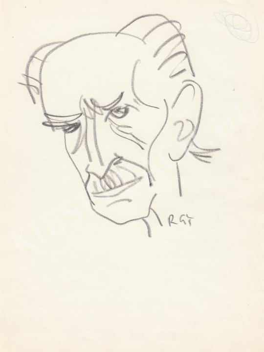 Eladó  Rózsahegyi György - Benedek Marcell író portréja festménye