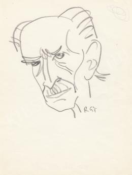 Rózsahegyi György - Benedek Marcell író portréja