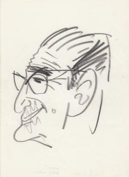 Rózsahegyi György - Békeffi István író portréja