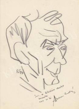 Rózsahegyi, György - Portrait of András Berkesi Writer, Politician