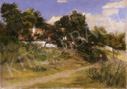 Aggházy Gyula - Nyári napsütésben | 10. Auction aukció / 4 tétel
