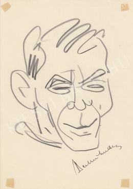 Rózsahegyi György - Berkesi András író, politikus portréja (1980-as évek)