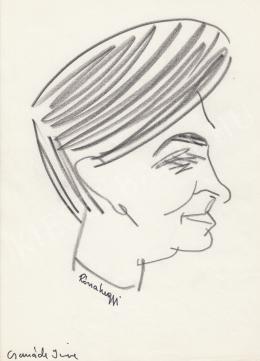 Rózsahegyi György - Csanády Imre író, költő, szerkesztő portréja