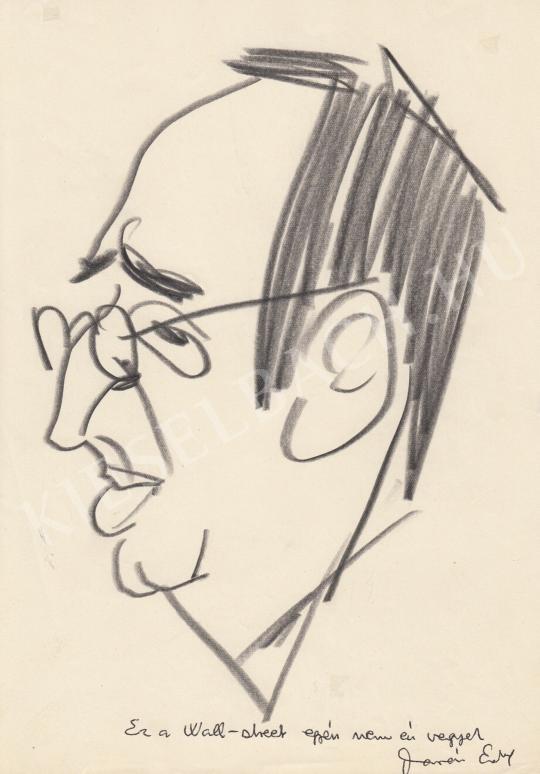 Eladó  Rózsahegyi György - Darázs Endre író, költő portréja festménye