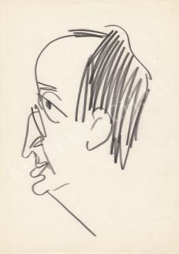 Rózsahegyi György - Darázs Endre író, költő portréja