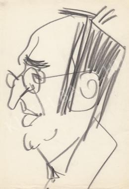 Rózsahegyi, György - Portrait of Endre Darázs Poet, Writer